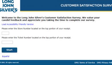 Long John Silver s Customer Satisfaction Survey