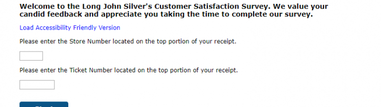 Long John Silver s Customer Satisfaction Survey