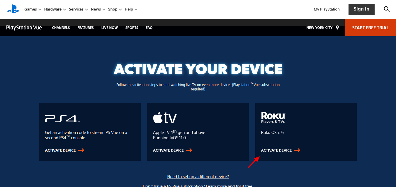 Activate-a-Roku-streaming