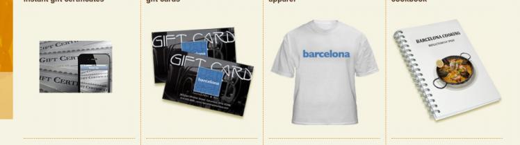 Barcelona Gift Card Logo
