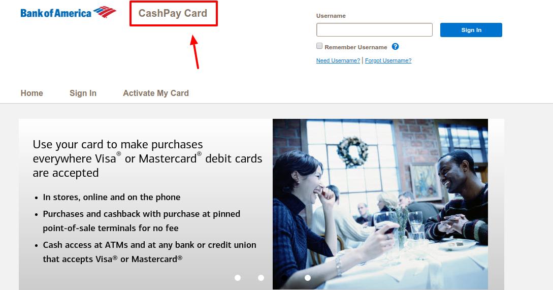 CashPay Card Activate