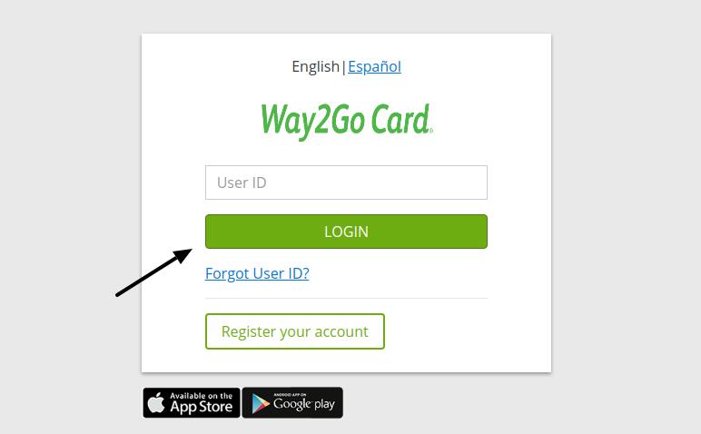 Login - Way2Go Website