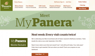 Meet MyPanera Logo