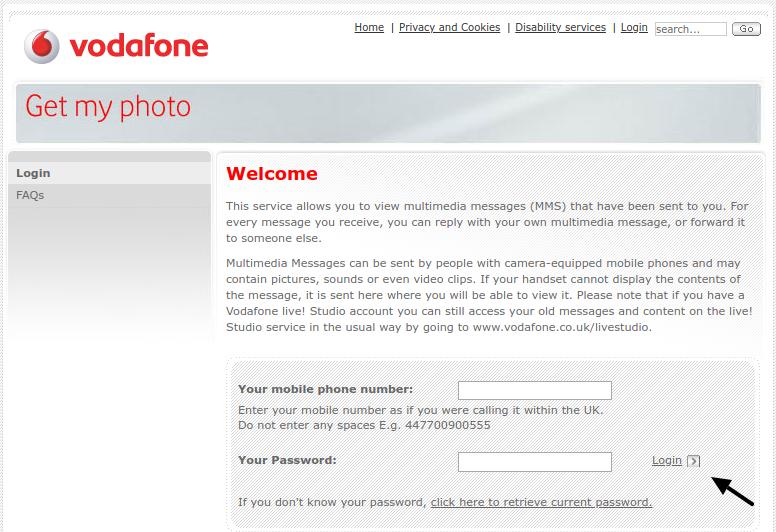 My Vodafone Login