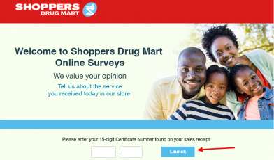 Shoppers Drug Mart Survey