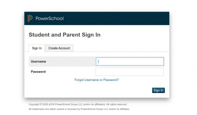 Student and Parent Sign In