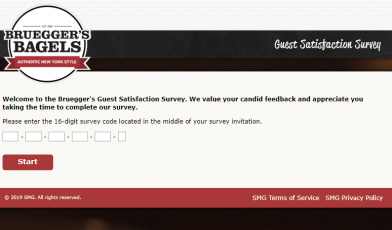 Bruegger s Guest Satisfaction Survey