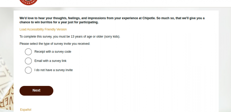 Chipotle Voice of the Guest
