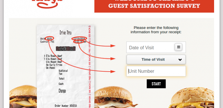 The Arby s Guest Satisfaction Survey