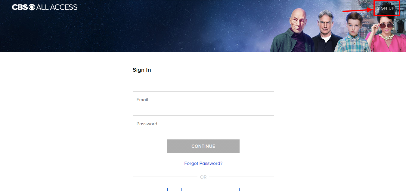 Big Brother Sign Up