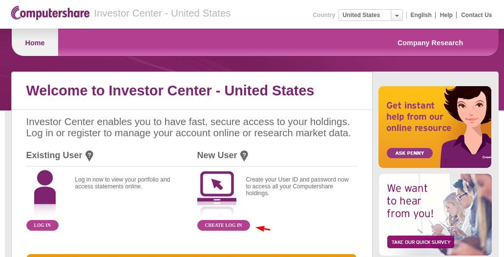 Computershare transfer Register