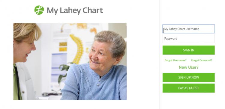 My Lahey Chart Logo