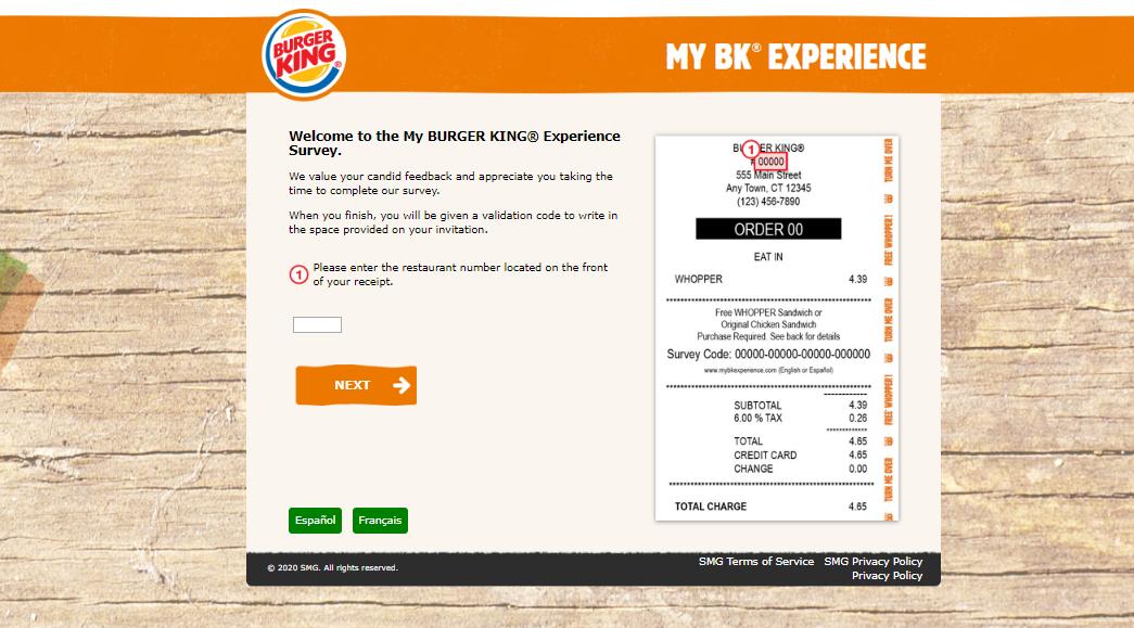 MyBKExperience Survey