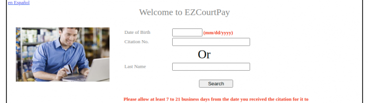 EZ Court Pay Logo