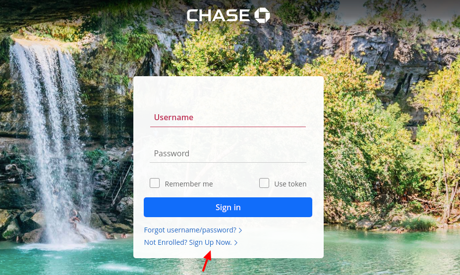 chase business account sign up