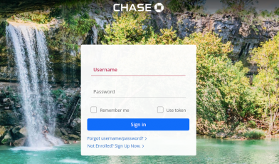 chase business login
