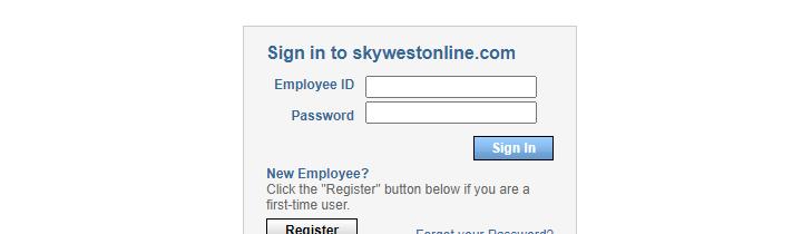 skywestonline login