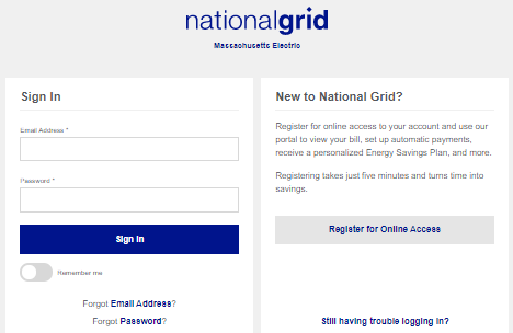 National Grid Bill Pay