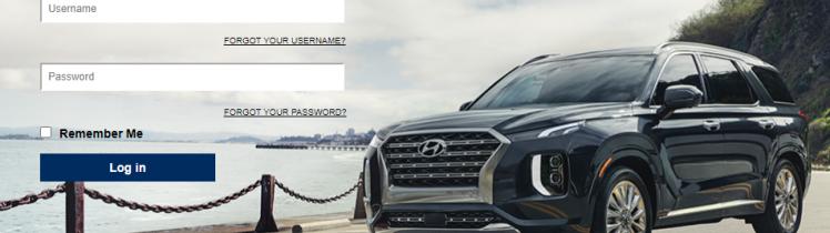 Hyundai Login